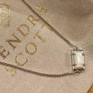 Kendra Scott Phillipa Silver Slider Bracelet